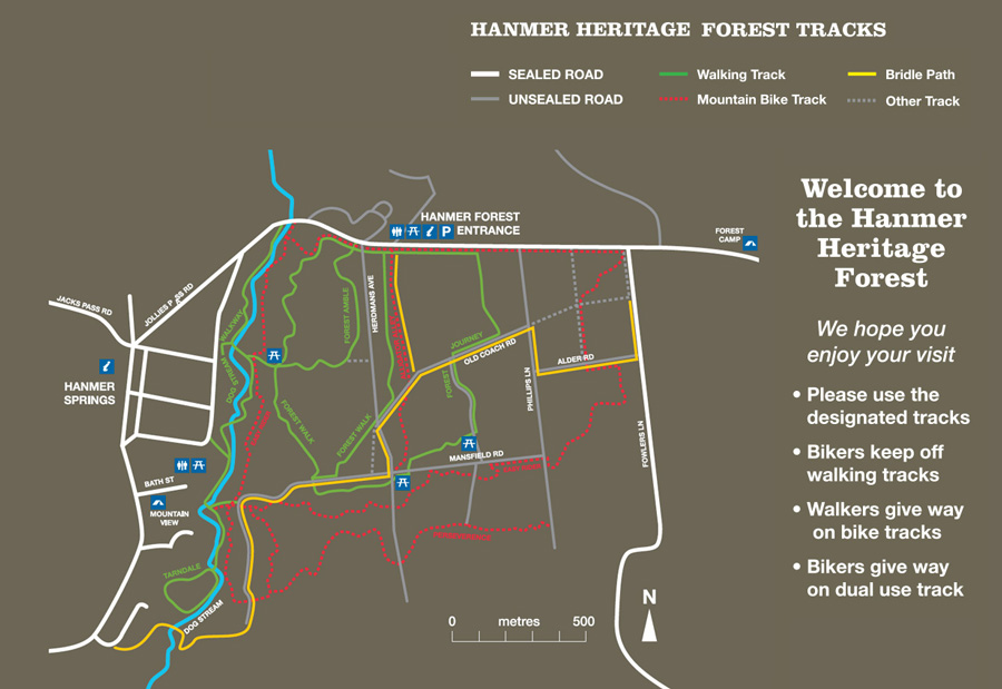 Hamner Forest Map